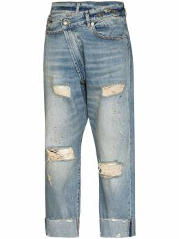 R13 Crossover distressed-finish jeans R13W2048747