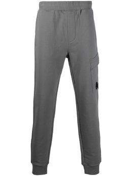 C.P. Company спортивные брюки кроя слим 10CMSP042A005086W