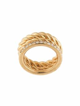 Mulberry thin crystal-embellished ring QR2281000Z960