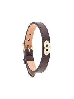 Mulberry Bayswater New Thin leather bracelet QB2351657K195