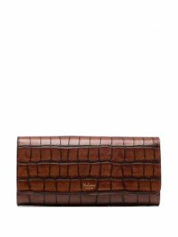 Mulberry crocodile-embossed leather continental wallet RL6530214G918