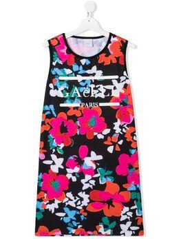 Gaelle Paris Kids платье без рукавов с цветочным принтом 2746V0394