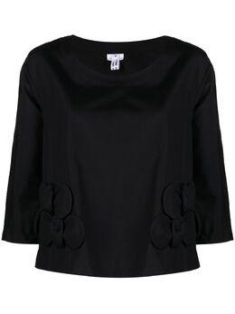 Comme Des Garcons Comme Des Garcons блузка с аппликацией RGB007051