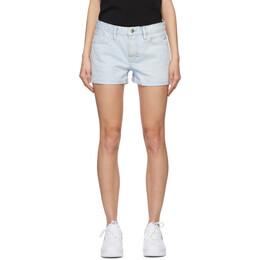 Frame Blue Le Grand Garcon Shorts LGGSH385