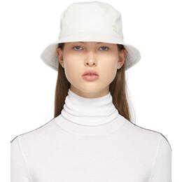 Maison Michel White Jason Bucket Hat 2072022002