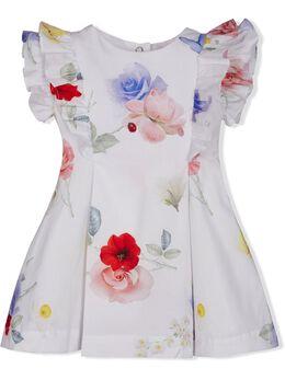 Lapin House платье с цветочным принтом 211E3263