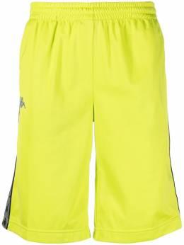 Kappa спортивные шорты с логотипами на лампасах 37145CW