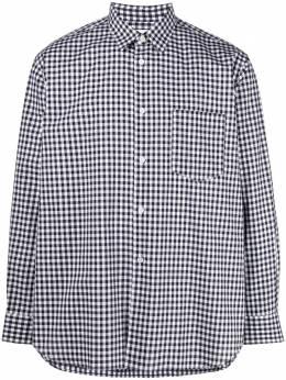 Comme Des Garcons Shirt рубашка в клетку гингем FZB010PER