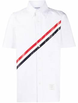 Thom Browne рубашка с полосками MWS239P06177
