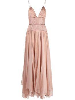 Maria Lucia Hohan плиссированное платье KATYABRONZEAMBERGLOW