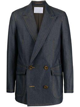 Kolor двубортный пиджак 21SCMJ09112