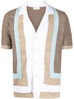 Altea полосатая рубашка с короткими рукавами 2151174