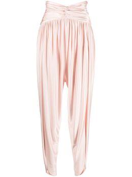 Alexandre Vauthier брюки с завышенной талией и сборками 211PA1401