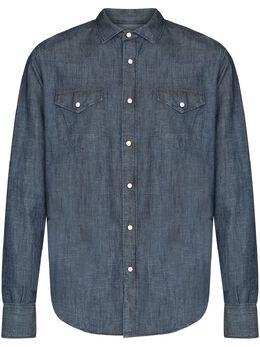 Eleventy рубашка на кнопках с длинными рукавами C75CAMA09TES0A160