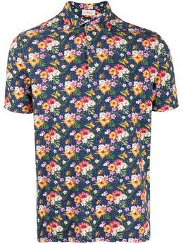 Altea рубашка поло с цветочным принтом 2155062