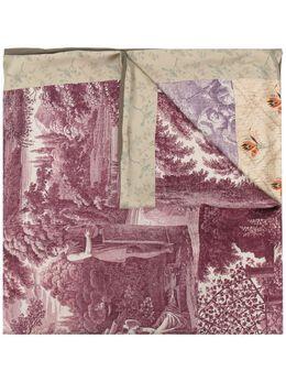 Pierre-louis Mascia шарф с принтом ALOESTA065X190D502347