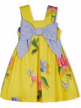 Lapin House платье с цветочным принтом 211E3297