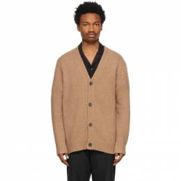 Acne Studios Brown Wool and Cashmere Cardigan B60144