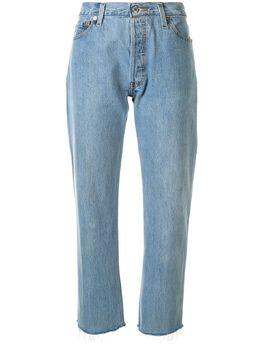 Re/Done укороченные джинсы Stove 1076STVC