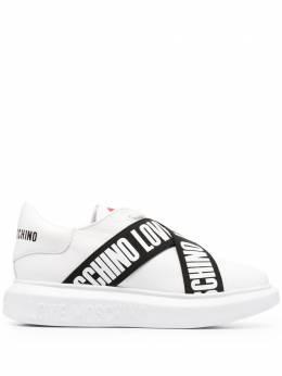 Love Moschino кроссовки с логотипом JA15254G1CIA0