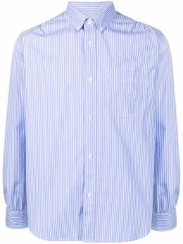 Junya Watanabe Man полосатая рубашка на пуговицах WGB016051