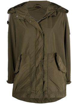 Aspesi куртка на молнии с капюшоном N066F973