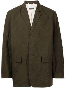 Casey Casey пиджак Pud с жатым эффектом 16HV249