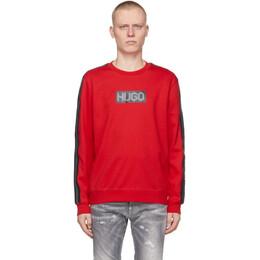 Hugo Red Dubeshi Sweatshirt 50448382