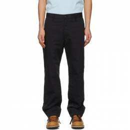 Stone Island Shadow Project Black Straight Trousers 741930108