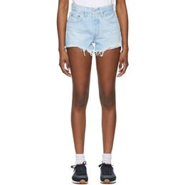 Levi's Blue 501 Original Shorts 56327-0086