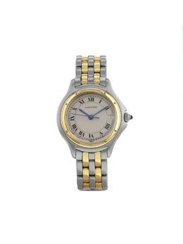 Cartier наручные часы Cougar pre-owned 26 мм 1993-го года 373485