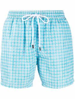 Barba плавки-шорты с цветочным принтом COST1710