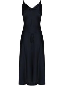 Low Classic платье миди с воротником-хомутом LOW21SSDR01NV