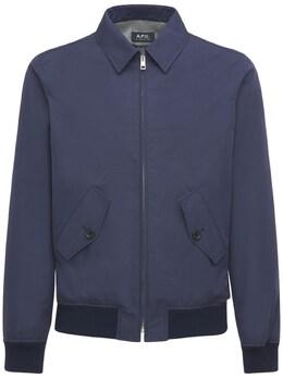 Куртка Из Хлопка И Нейлона A.P.C. 73IGZA010-SUFB0
