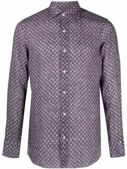 Finamore 1925 Napoli рубашка с узором 280103P1132