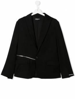 Dsquared2 Kids пиджак строгого кроя с молнией DQ0067D00X9