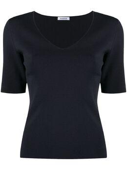 P.a.r.o.s.h. футболка Romad с V-образным вырезом ROMAD511580