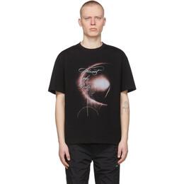 C2H4 SSENSE Exclusive Black Graphic T-Shirt R003-113T