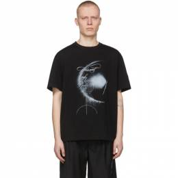 C2H4 SSENSE Exclusive Black My Own Private Planet Graphic T-Shirt R003-112T