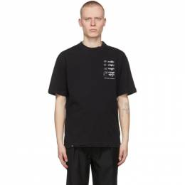 C2H4 Black My Own Private Planet Distressed Layered T-Shirt R003-036T