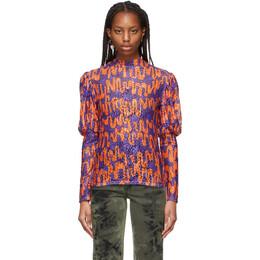Collina Strada Purple and Orange Cardio Princess Shirt XX3114