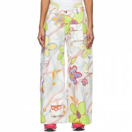 Collina Strada Multicolor Flower Swirl Trousers XX6360