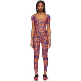 Collina Strada Purple and Orange Scoop Jumpsuit XX2111