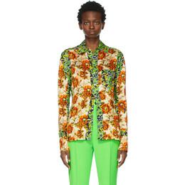 Kwaidan Editions Multicolor Floral Print Shirt SS21WT075W_VP