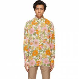 Tom Ford Multicolor Floral Shirt 9FT980-94OSBE