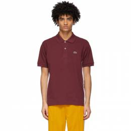 Lacoste Burgundy Ricky Regal Edition Pique Polo PH1685-51