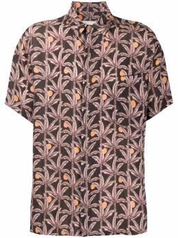 Nanushka рубашка Adam с узором NM21SSSH00116