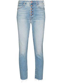 Mother укороченные джинсы скинни The Pixie Dazzler 1726686