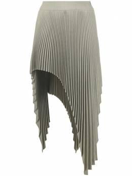 Ssheena плиссированная юбка Glenda асимметричного кроя 21SSGLENDA