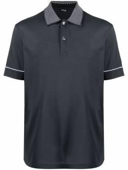 Kiton рубашка поло с контрастным воротником UMK0027